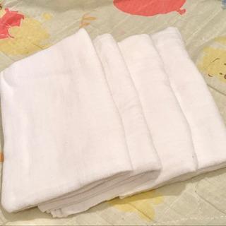 沐浴布 4枚 日本製