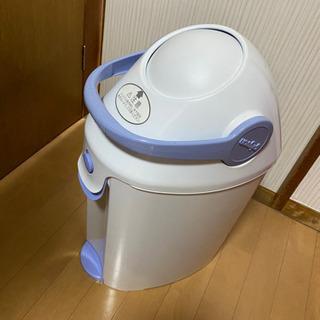 ゴミの日に廃棄⭐︎Pigeon おむつゴミ箱