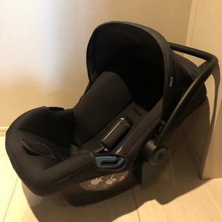 【使用7回のみ】ISOFIXチャイルドシート3点セット(新生児〜)2
