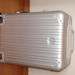 ★新品・箱入り★メルセデスベンツ オリジナルスーツケース★アルミ...