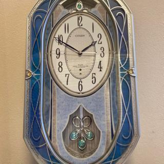【電波時計】CITIZEN 電波掛時計