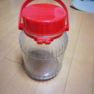 果実酒作り 硝子ビン 3L