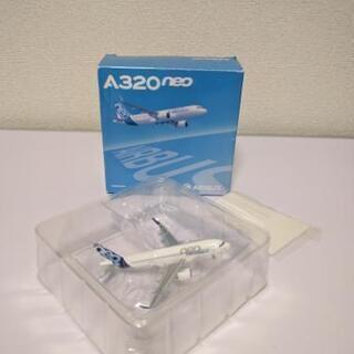 【未使用】A320-neoプレーン模型