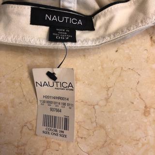 NAUTICAベースボールキャップ - 服/ファッション
