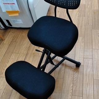 バランスチェア 姿勢矯正椅子 ガス圧昇降・大人用・腰痛対策・背も...