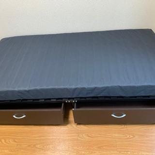 ニトリ シングルベッド 美品