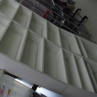 【リサイクルショップどりーむ荒田店】3081 本棚 ホワイト