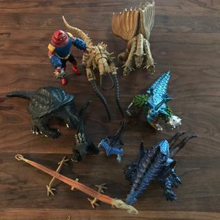 フィギュア まとめ売り 恐竜 ゴジラ