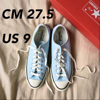 コンバース CT70 チャックテイラー 三つ星 ブルー 水色 日...