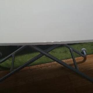 ニトリ 昇降式 テーブル 白 90cm×60cm×高さ11~70cm