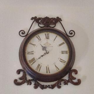 アンティーク調壁掛け時計