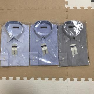 メンズYシャツ Mサイズ 長袖 形態安定 立体パターン