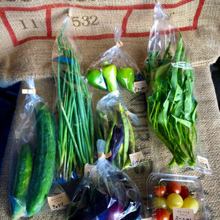 自然栽培の野菜セット!