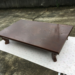 木製ローテーブル 食卓テーブル