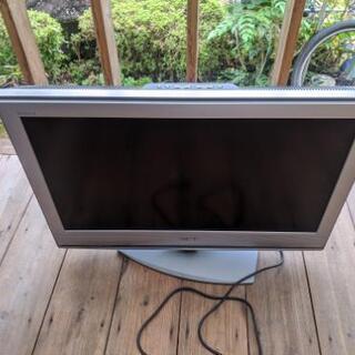 中古のソニー32型テレビ難あり