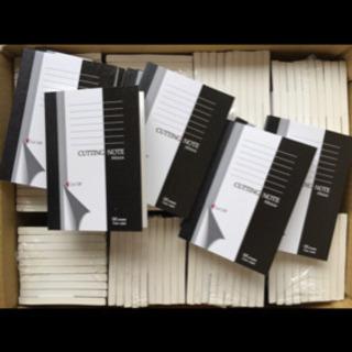 新品★100冊 ★カッティングノート A6サイズおまけも付けます♪