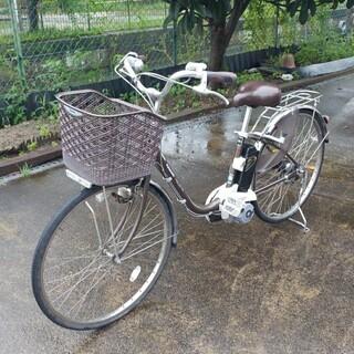 新基準電動アシスト自転車 パナソニックViVi DX 鍵1…