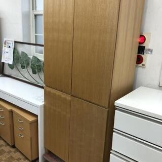 【無印良品】収納棚 食器棚 収納庫 (幅80×高さ175cm)💳...