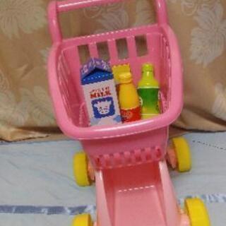 おもちゃのショッピングカート