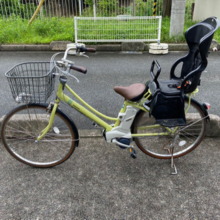 Panasonic 電動自転車 可愛いカラー