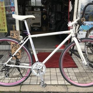 アサヒ レユニオン お洒落な可愛いクロスバイク