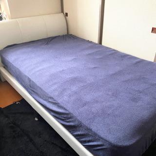 セミダブルベッド+マットレス N-sleep
