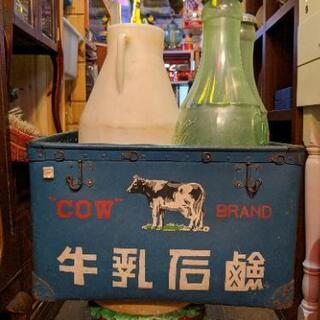 希少 年代物 当時物 牛乳石鹸 牛乳 箱 ボックス レトロ…
