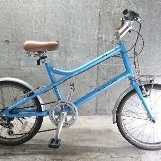 自転車中古 ミニベロ Boski-Voeje 外装6段変速 タイ...