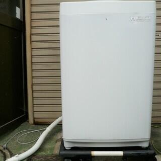●東芝 TOSHIBA AW-5G5 5.0kg 全自動電気洗濯...