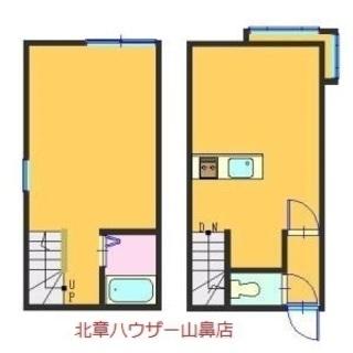 【厚別駅徒歩6分☆敷金・礼金不要1LDK♪】高齢者&生保OK★敷...