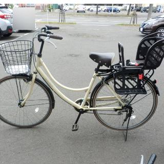 子供乗せ 自転車 チャイルドシート付き 27インチ 6段変速  ...