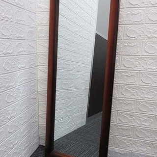 ss1381 ウォールミラー 鏡 ブラウン 壁掛け ミラー…