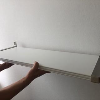 【未使用】IKEAの棚板(壁面取付タイプ)