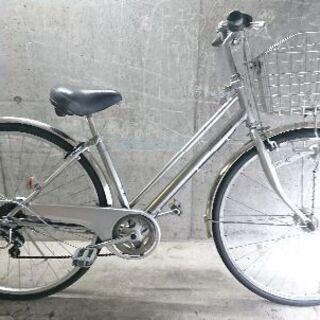 自転車中古 TRAFFICCITY マルキン 外装6段変速 オー...