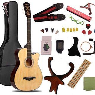 初心者向け 付属品贅沢な16点セット 旅行にもコンパクトギター