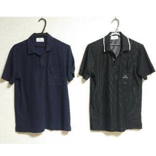 Calvin Klein カルバンクライン 半袖 ポロシャツ黒と...