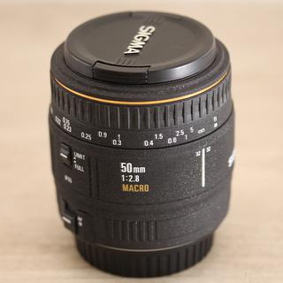EX SIGMA 50mm 1:2.8 DG MACRO シグマ...