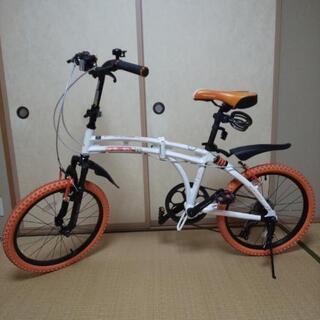 おしゃれ折りたたみ自転車 ドッペルギャンガー  215-DP 2...