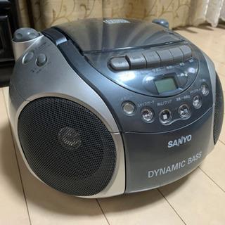 SANYO製 コンパクトCDプレーヤー