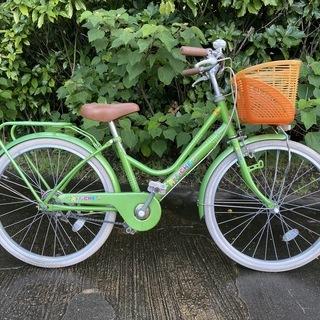 子供用自転車 22インチ グリーン AFFICHE J