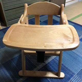 木製 ベビーチェア ローチェア テーブル付き オシャレ♪ 赤ちゃ...