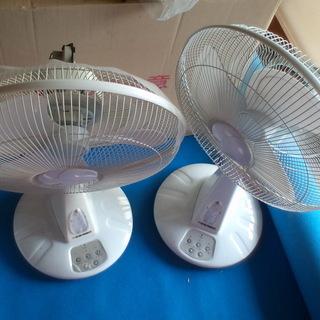 扇風機ジャンクです 2台SET!
