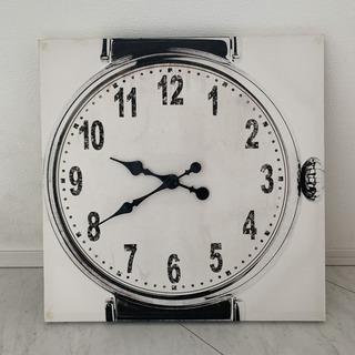 Francfranc 壁掛け時計 キャンパス型