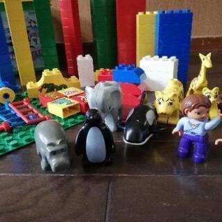 lego duplo 1才半~ レゴ デュプロ 楽しいどうぶつえ...