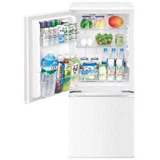 冷蔵庫 ほぼ未使用 SHARP SJ-D14D-W