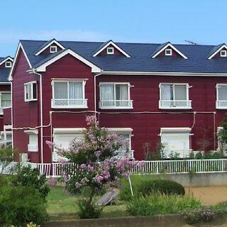赤い外壁の人気のアパート!キャッスルロートスⅠ-202☆ロフト家...