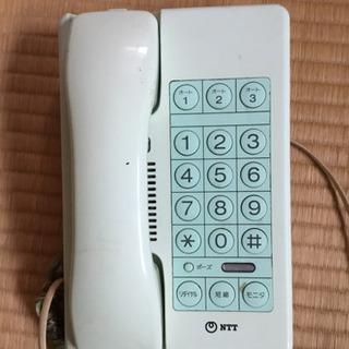 レトロ家電 30年前の電話機 ジャンク品