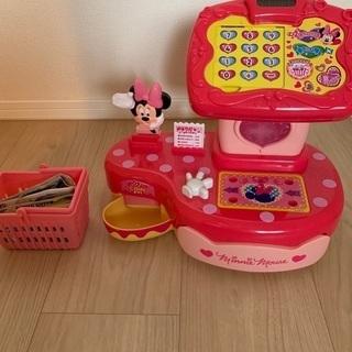 ミニーマウスレジ台 その他おもちゃセット