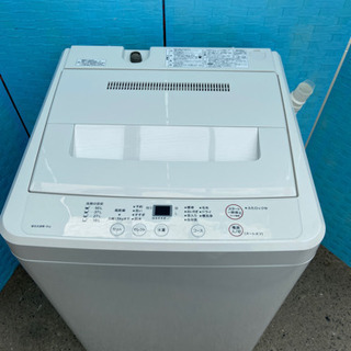 🌼美品 激安 オススメ‼️無印良品 洗濯機AQW-MJ60🌼