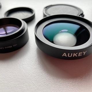 スマホ用広角レンズ+望遠レンズ、美品です!